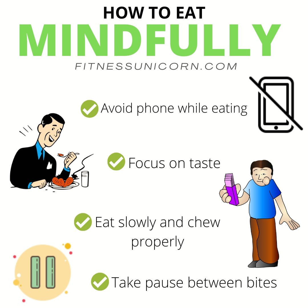 How to eat mindfully