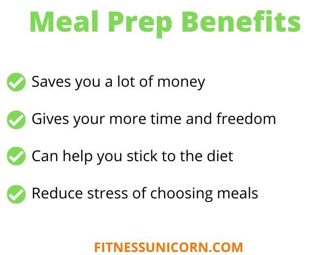 keto meal prep benefits