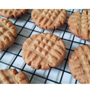 cooling keto peanut butter cookies