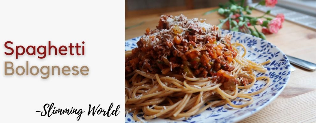 Slimming World Spag Bol