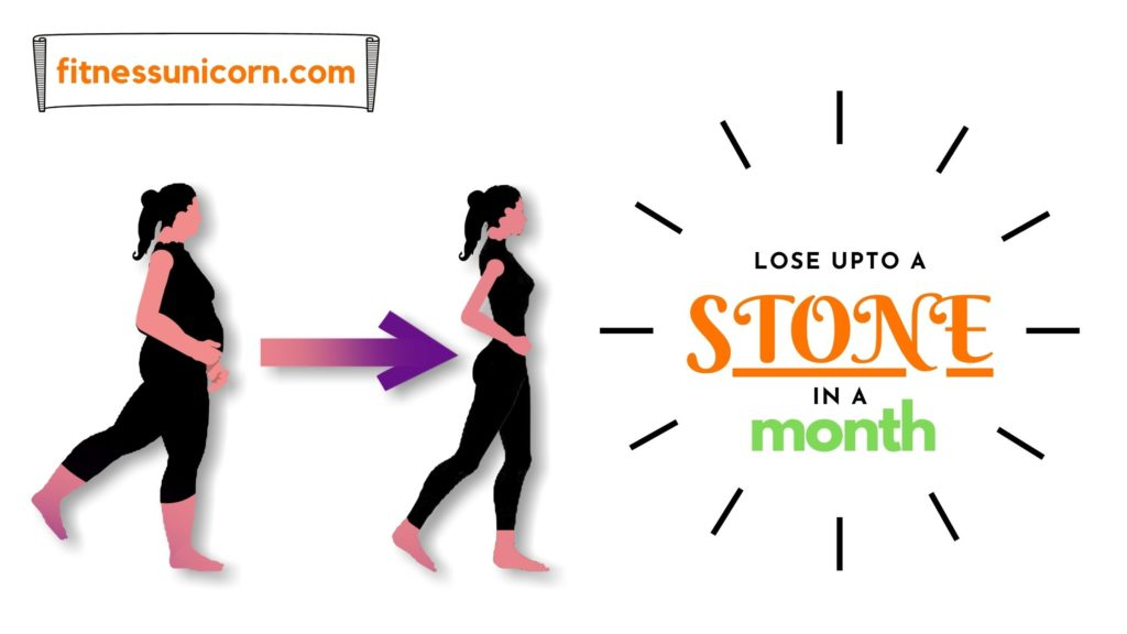 how to lose a stone in a month