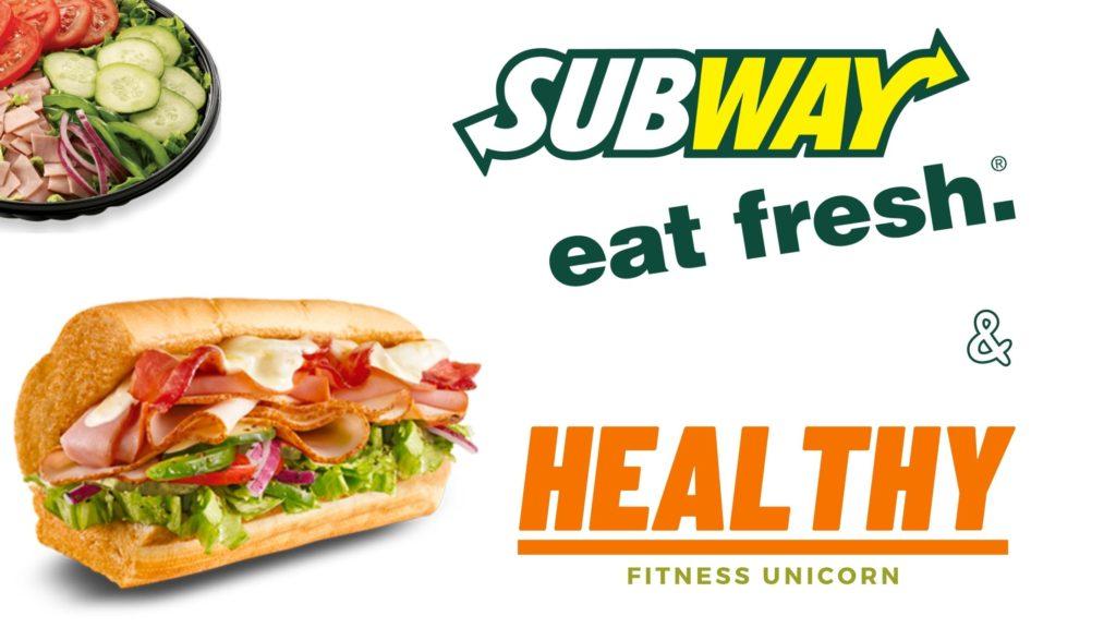 subway low calorie subs