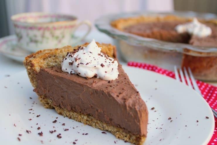 Keto Chocolate Cream Pie
