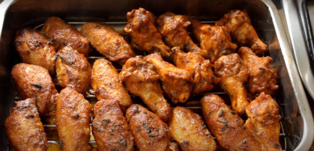 Homemade chicken wings keto