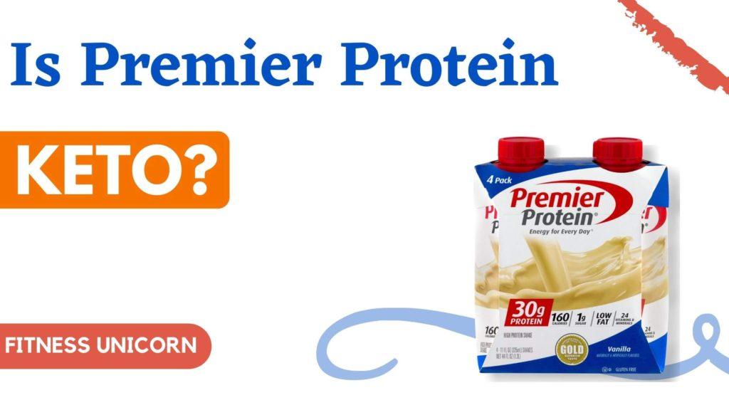 is premier protein keto