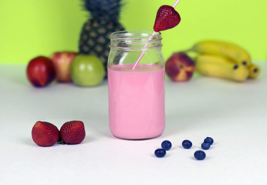 Protein Strawberry Shake