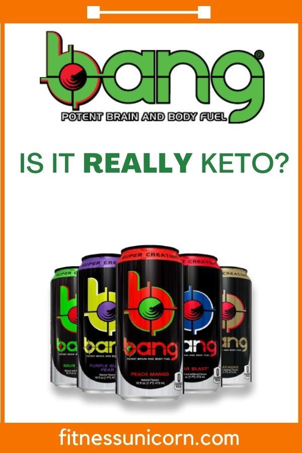 are bang energy drinks keto