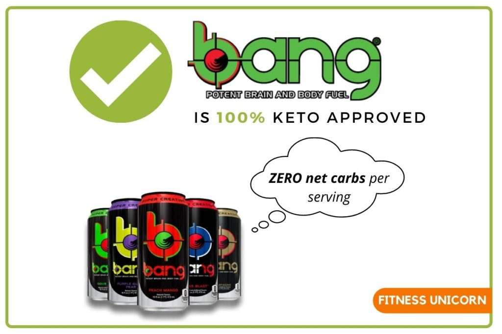 bang energy drink is keto friendly