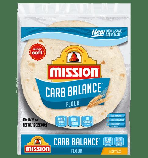 carb balance soft taco