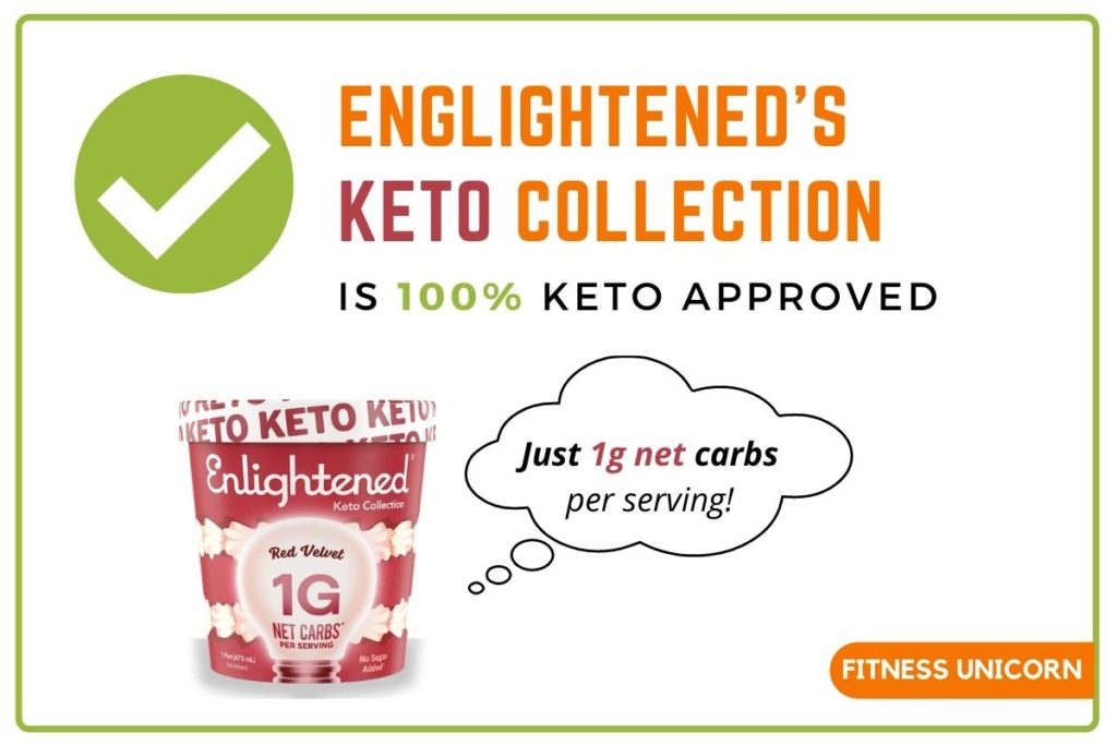 enlightened ice cream is keto approved