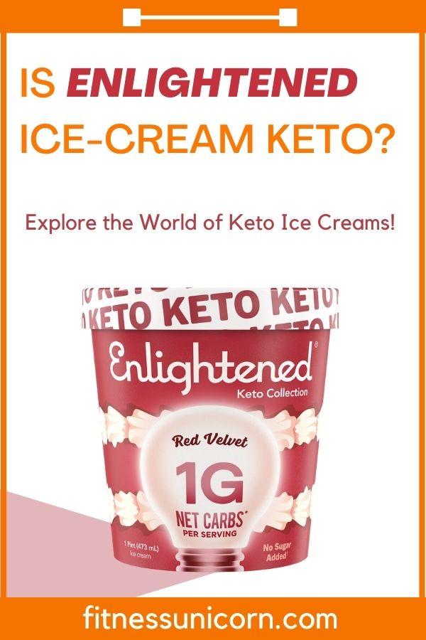 is enlightened ice cream keto