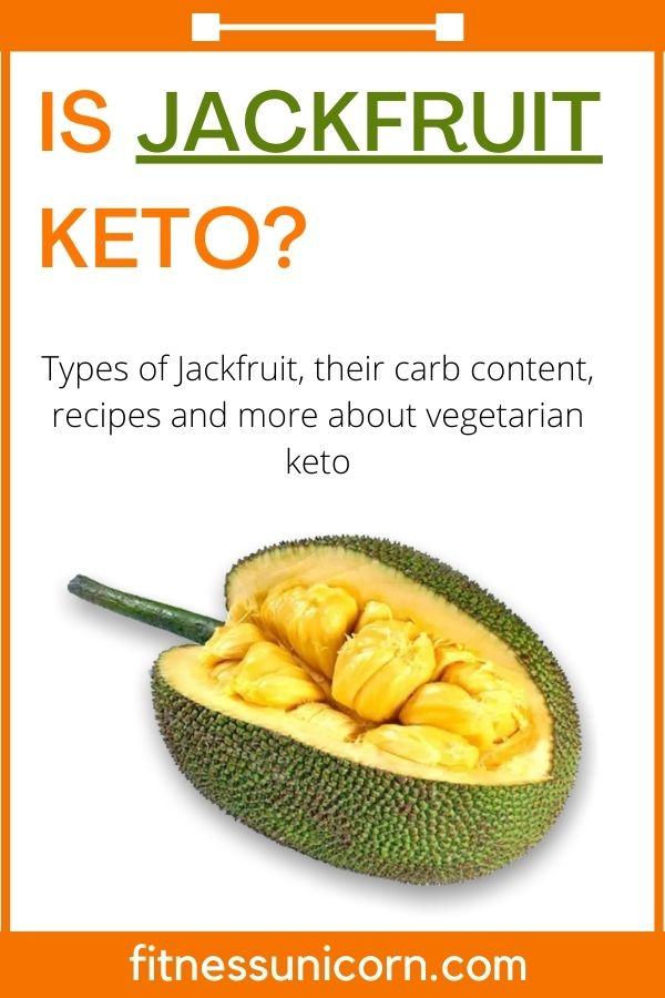is jackfruit keto friendly