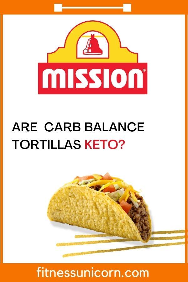 is mission carb balance keto