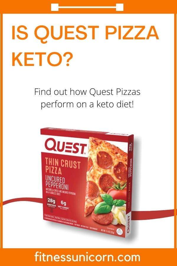 is quest pizza keto