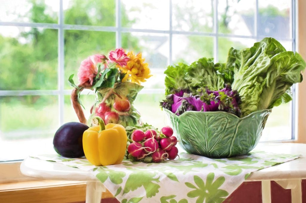 leafy vegetables on keto