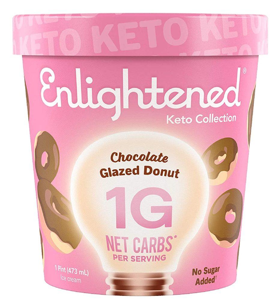 Enlightened keto ice cream