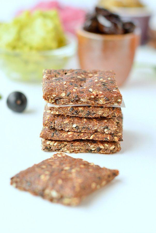 flaxseed crackers keto