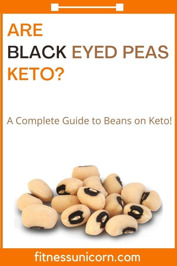 are black eyed peas keto