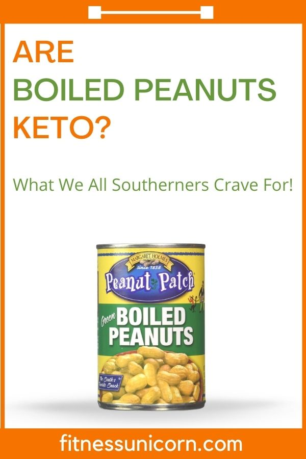 are boiled peanuts keto