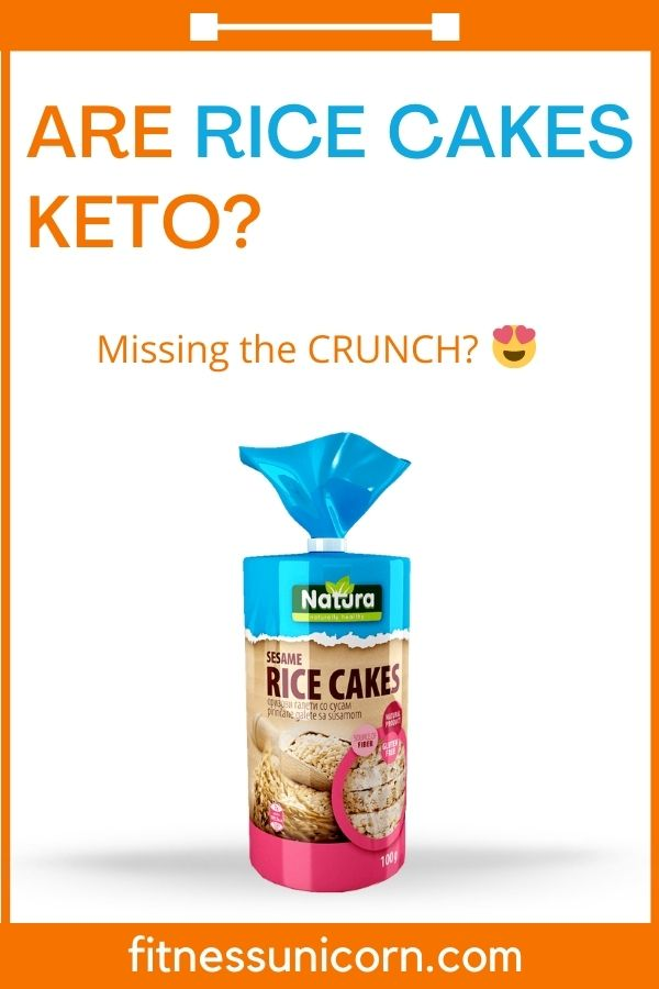 are rice cakes keto