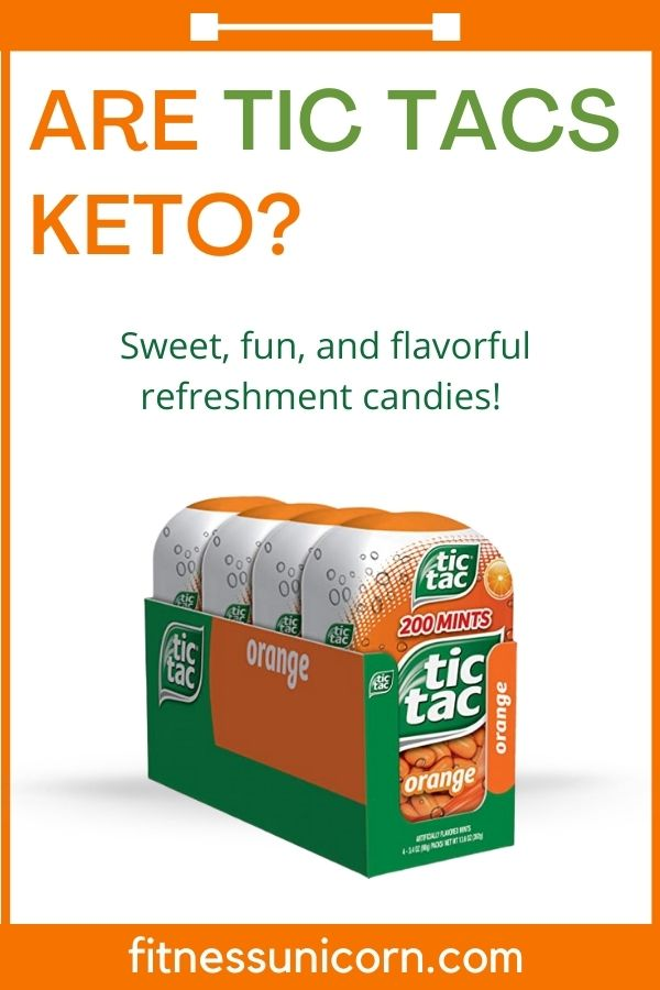 Are tic tacs keto