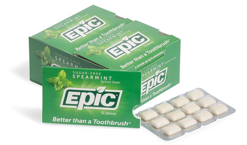 epic xylitol gum