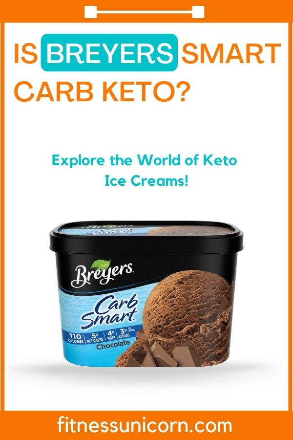 is breyers smart carb keto