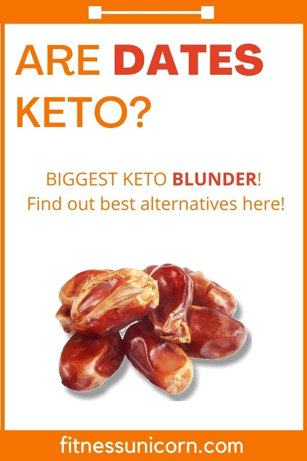 are dates keto friendly