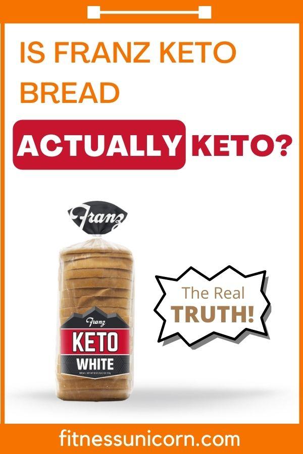 is franz keto bread really keto