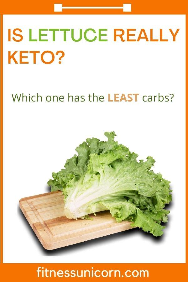 is lettuce keto friendly