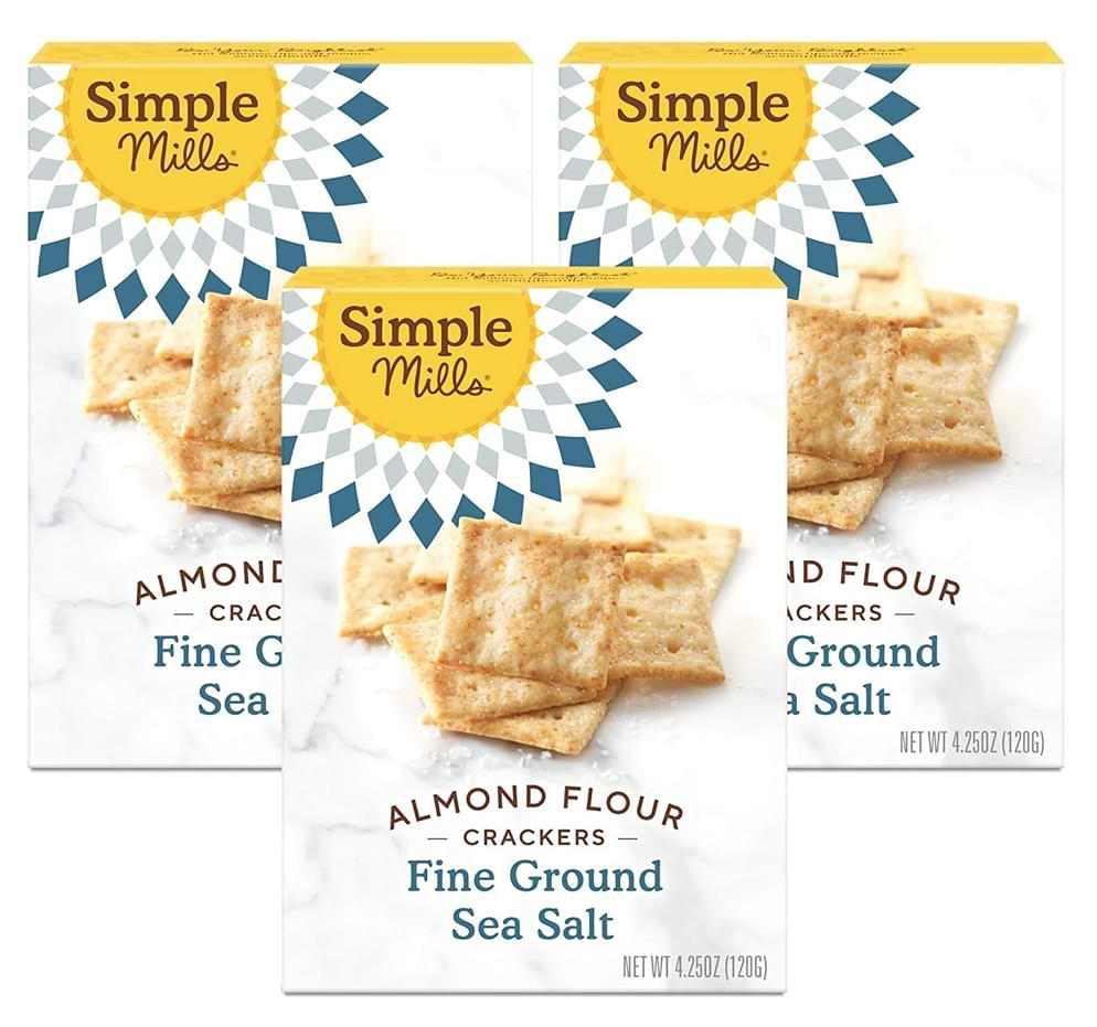 Simple mills fine ground sea salt crackers