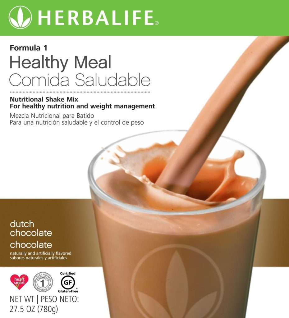 are herbalife meal replacement shakes keto?