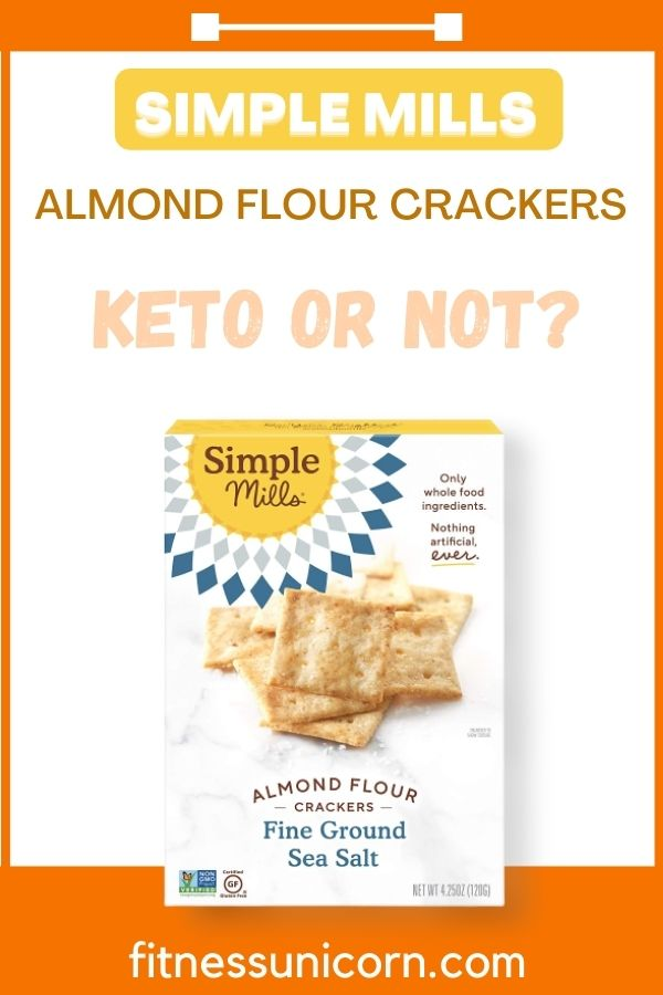 are simple mills almond flour crackers keto?