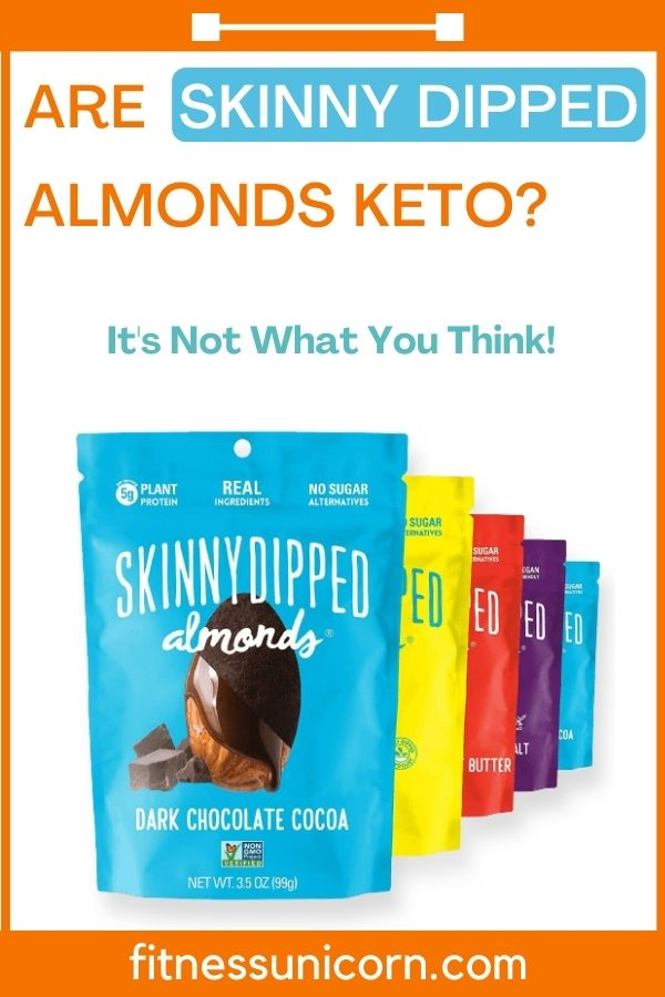 are skinny dipped almonds keto?
