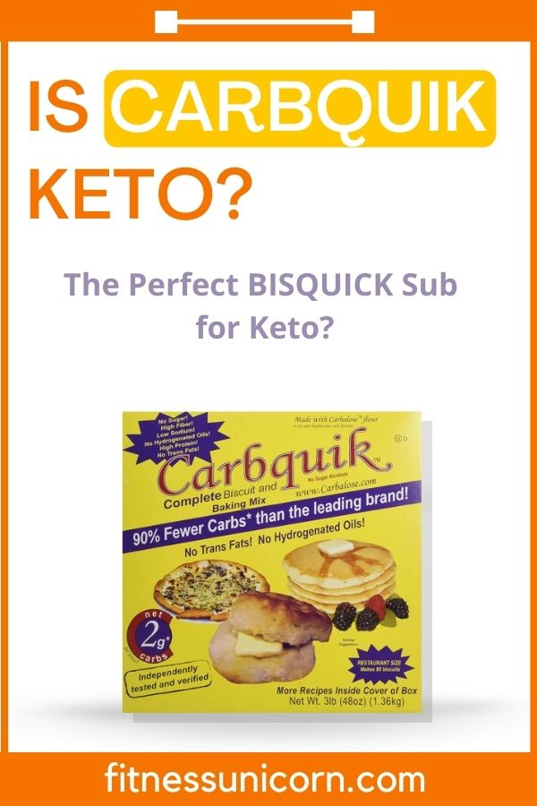 is carbquik keto
