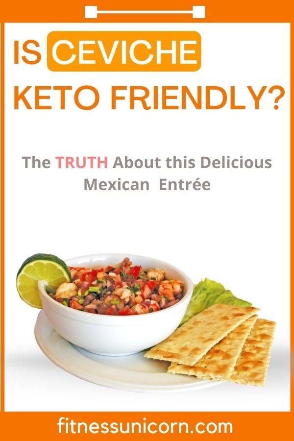 is ceviche keto-friendly