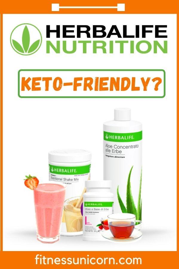 is herbalife keto friendly