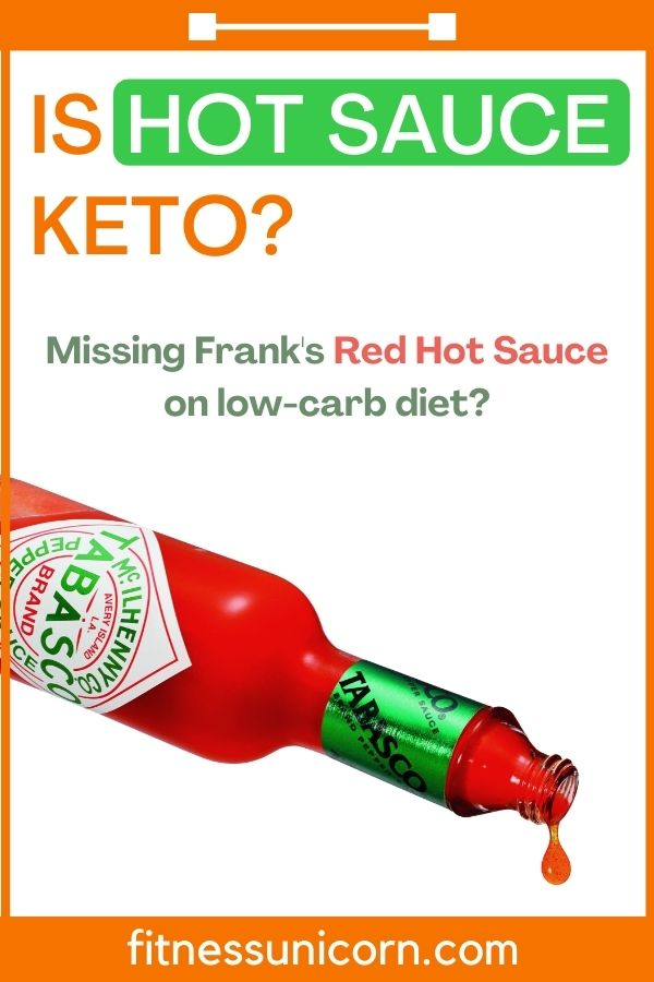 is hot sauce keto?
