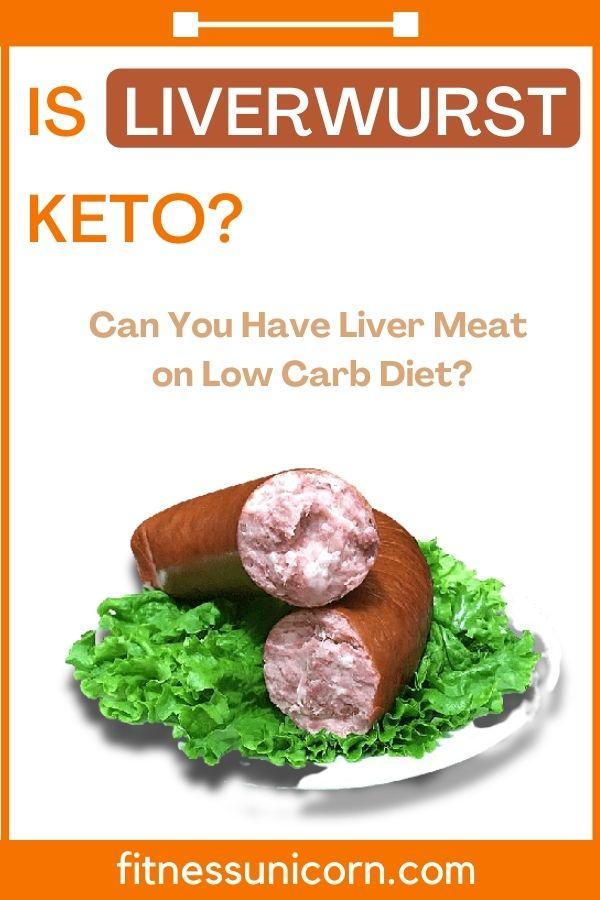 is liverwurst keto friendly?