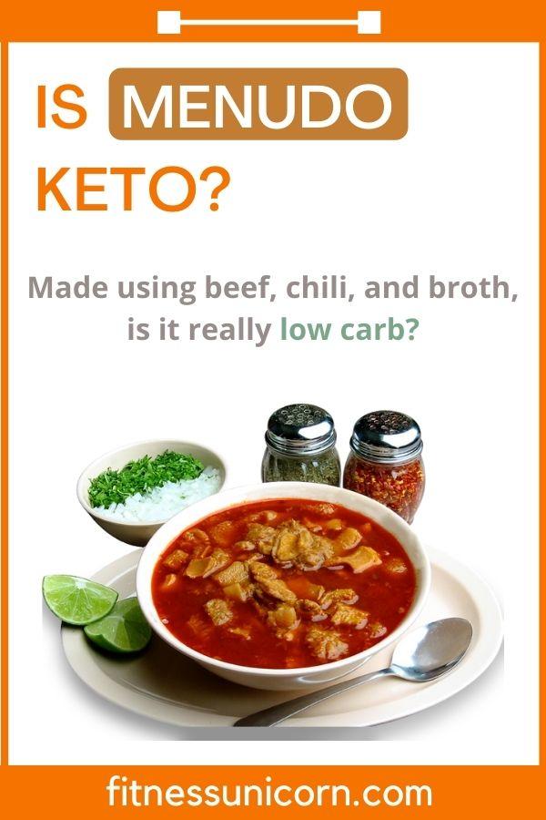 is menudo keto friendly?