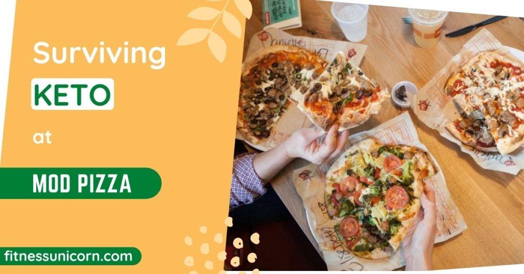 mod pizza keto friendly options