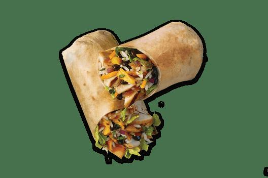 tropical smoothie wrap