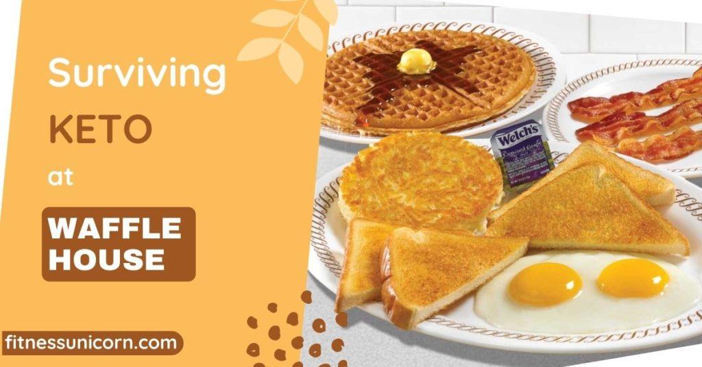 waffle house keto options