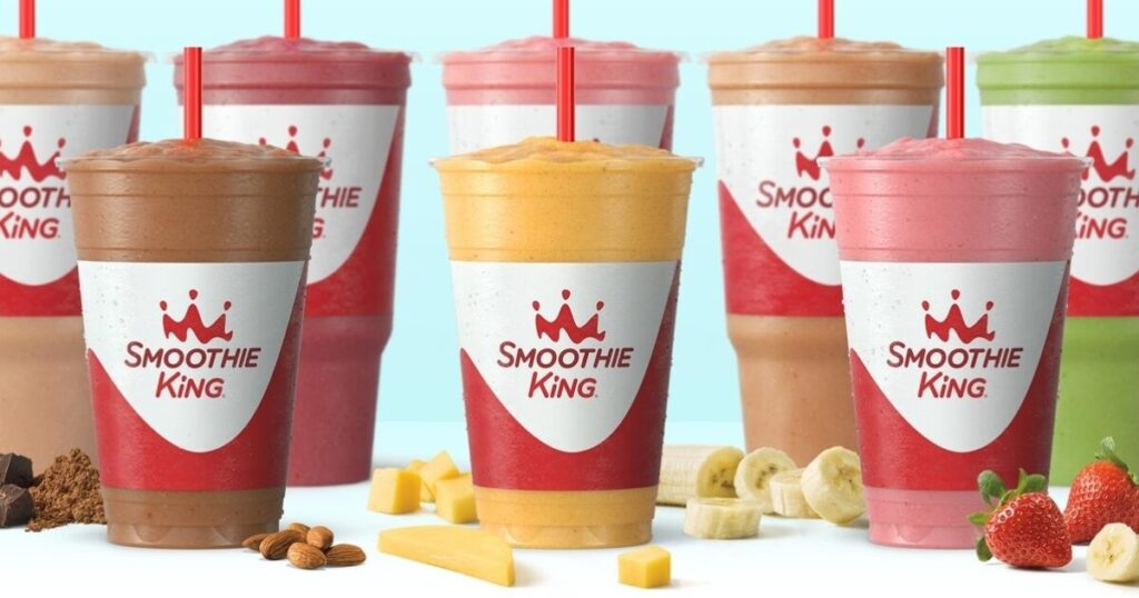 Gladiator low-carb smoothies