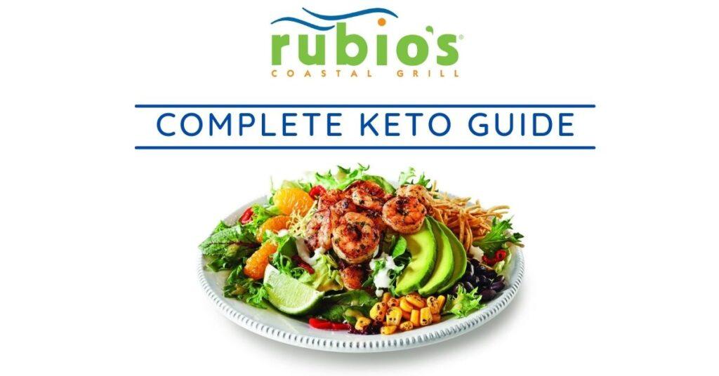 rubio's keto friendly options