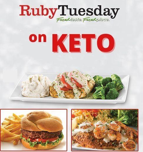 ruby tuesday keto friendly options