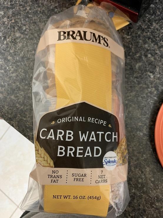 Braum's keto bread
